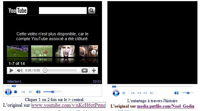 La video retirée de Segolene entartée