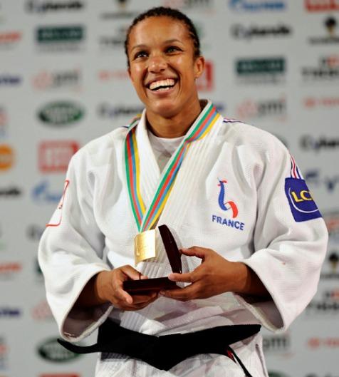 Lucie decosse triple championne du monde de Judo.