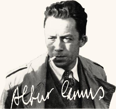 Albert Camus philosophe fran�ais, prix Nobel de litt�rature