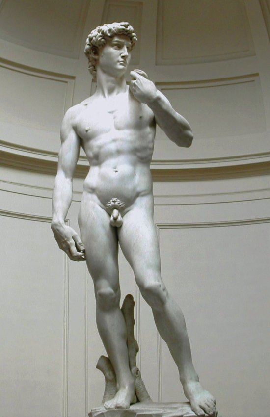 David sculpture de Michel Ange Florence
